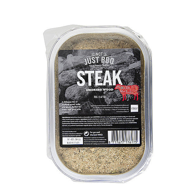 Not Just BBQ Smoking tray Steak 70g-BBQ STORE MALTA