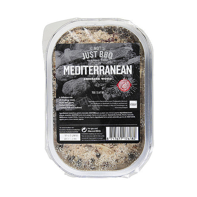 Not Just BBQ Smoking tray Mediterranean 70g-BBQ STORE MALTA