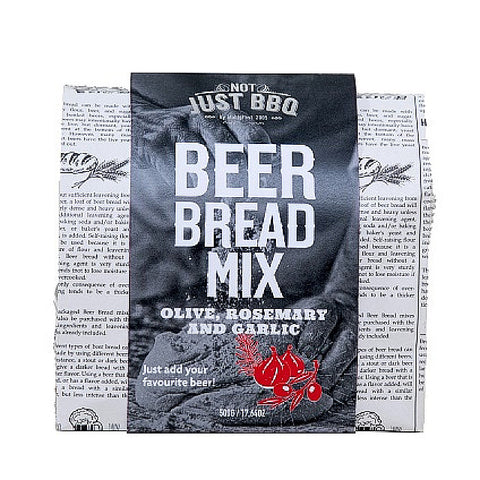 Beer Bread Olive, Rosemary & Garlic 500g-BBQ STORE MALTA