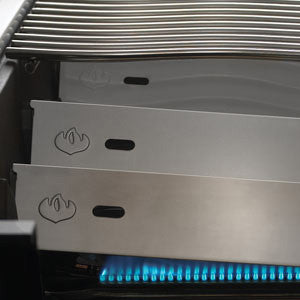 Prestige 500 (SS) with Infrared Rear and Side Burners-BBQ STORE MALTA