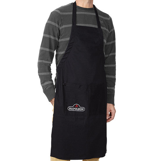 Cotton Apron Black-BBQ STORE MALTA