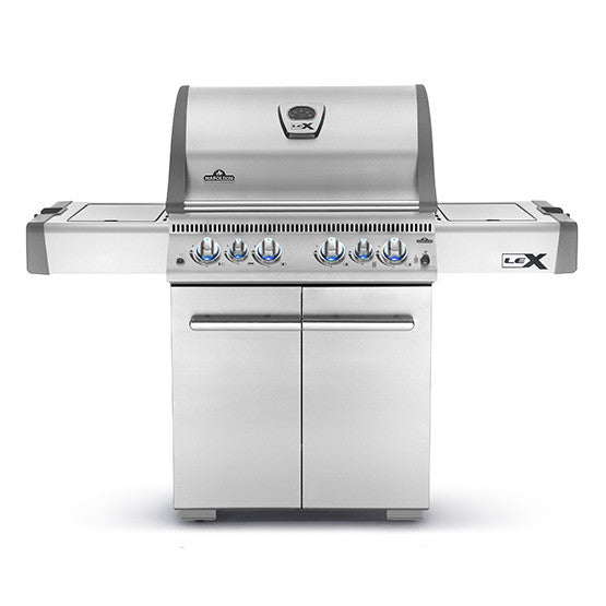 LEX 485 with Infrared Side Burner and Rear Burners 2017-BBQ STORE MALTA