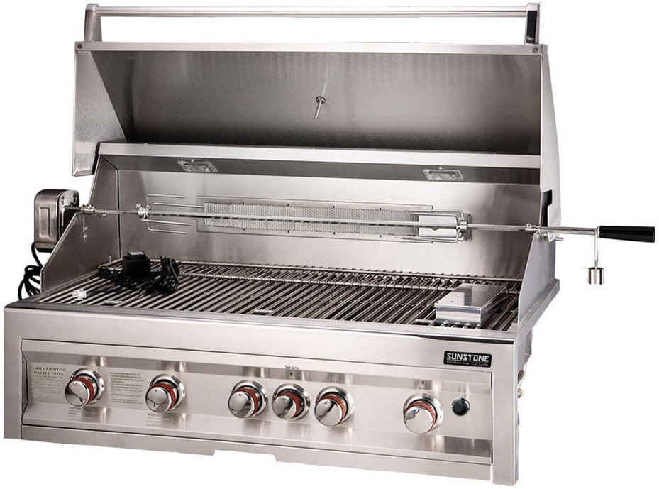 5 Burner Gas Grill with InfraRed-BBQ STORE MALTA