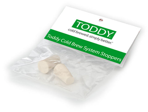 Toddy Rubber Stoppers (Set of 2)