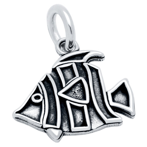 SILVER FISH CHARM