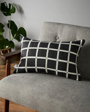 Deco cushion in Graphite