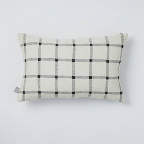 Deco cushion in White