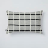Emilie cushion in Graphite and Grey