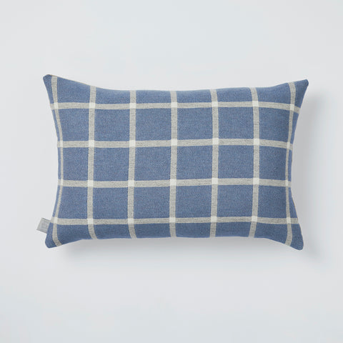 Deco cushion in Cornflower Blue