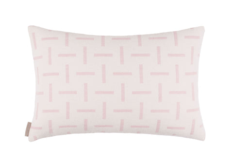 Dash cushion in Ecru/Pink Gin