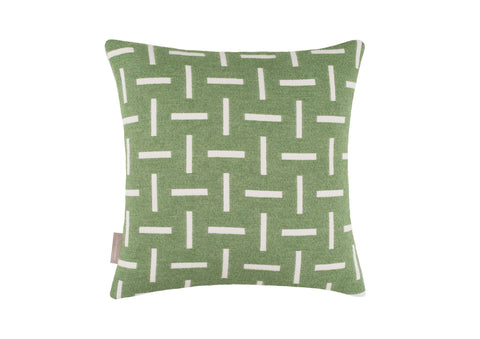 Cushion cover sample sale Dash in emerald