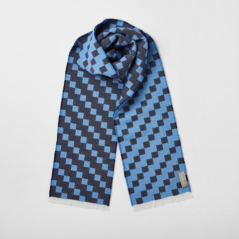 Blakeley scarf in Indigo