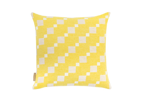 Carousel cushion in Lemon