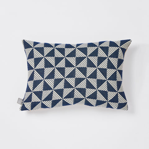 Porto cushion in Indigo