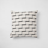 Brick cushion in White