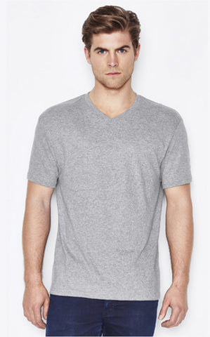 Mens V-Neck Promotional T-shirt