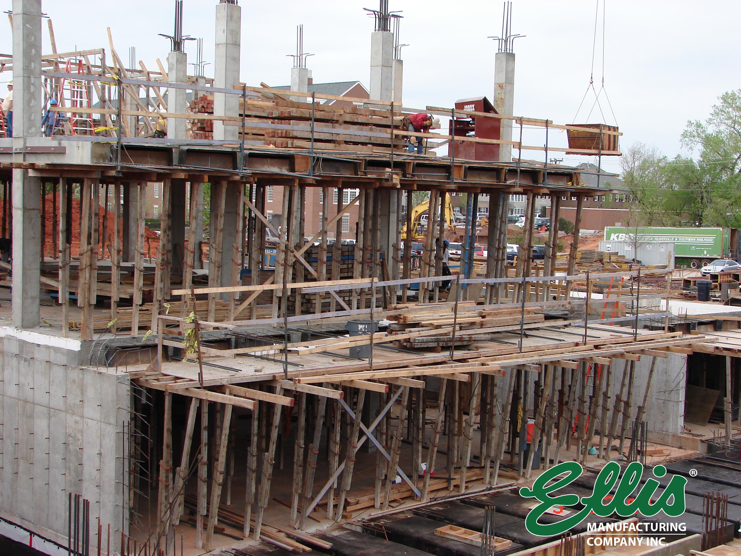 Ellis Elevated Slab Shoring System