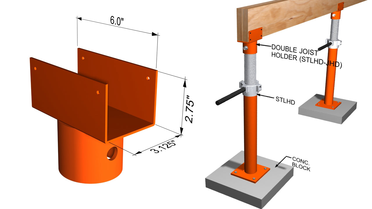 Ellis MFG STLHD-JHD Double Joist Holder