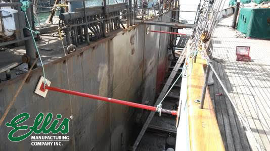 Stabilizing Ship In Dry Dock With Ellis Steel Shores