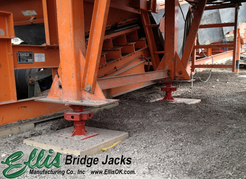 Heavy Duty Support Jack - Ellis Manufacturing Co. - BJ-6