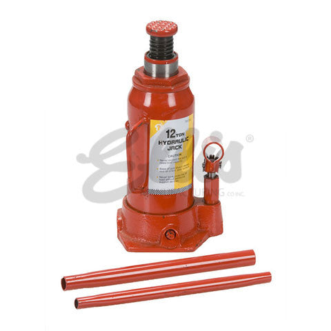 Ellis Manufacturing Co. Hydraulic Jack 12 Ton