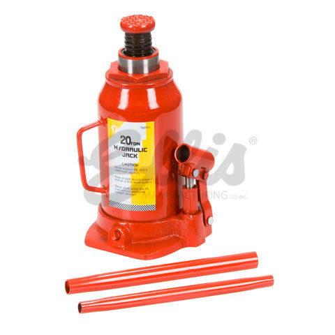 Ellis Manufacturing Co. Hydraulic Jack 20 Ton