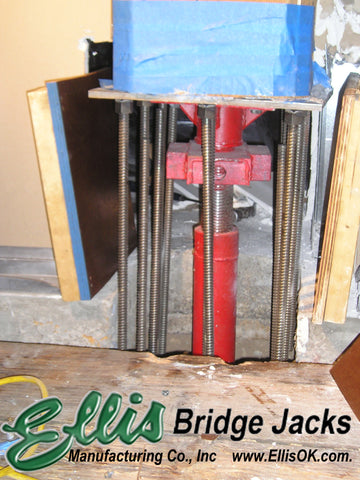 High load shoring jack / Bridge Jack BJ-21 | Ellis Manufacturing Co.