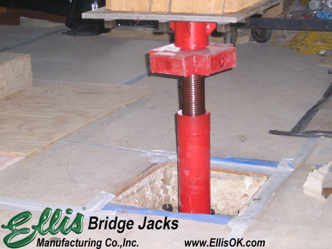 High load shoring jack / Bridge Jack BJ-12 | Ellis Manufacturing Co.