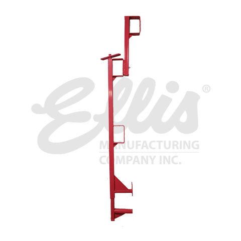 Full View of Ellis MFG 60 inch Guardrail Stanchion
