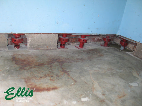 Support Garage Wall with Ellis MFG Screw Jacks