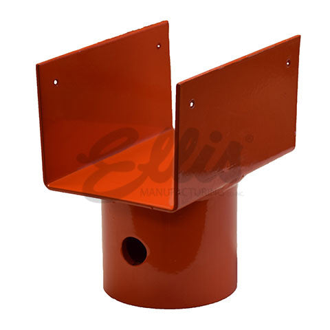 Lumber U-Head for Heavy Duty Steel Shore STLHD-4x4