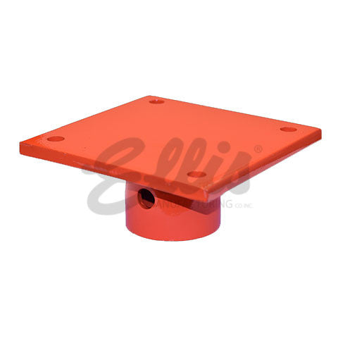 Flat Plate Top For Heavy Duty Steel Shores