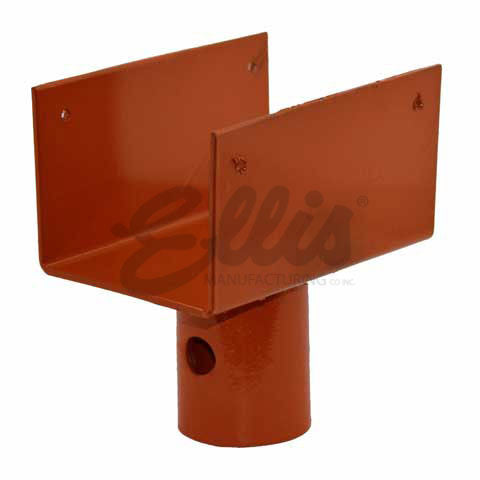 U-Head for Light Duty Steel Shore - STL-4x4 - Ellis Manufacturing Co.