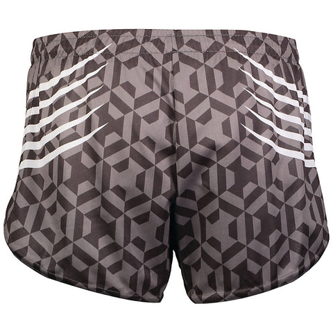 STOCK SAMPLE TRACK AND FIELD RUNNING SHORTS FULL DYE SUB PRINT