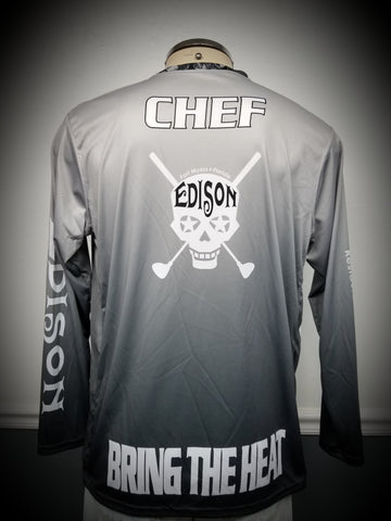 Custom Long Sleeve Dye Sublimated print