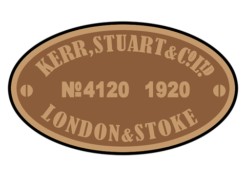 Kerr, Stuart works plates (later)