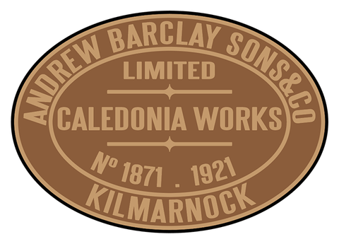 Andrew Barclay works plates