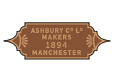 Ashbury Railway Carriage & Iron Company works plates