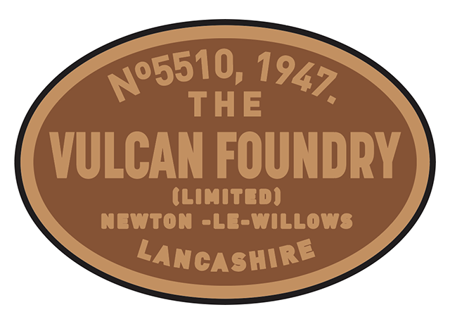 Vulcan works plates (later style)