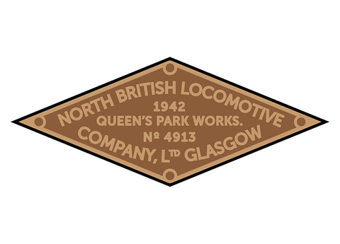 North British works plates (Dúbs style)