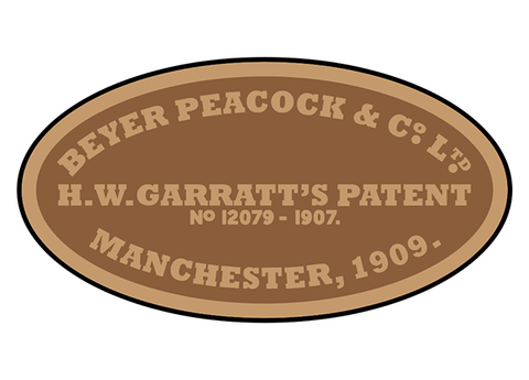 Beyer-Peacock works plates (early Garratt)