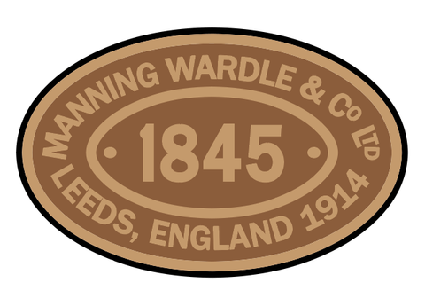 Manning-Wardle works plates (early style)