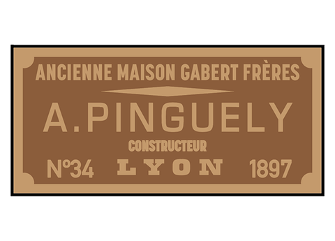 Pinguely works plates