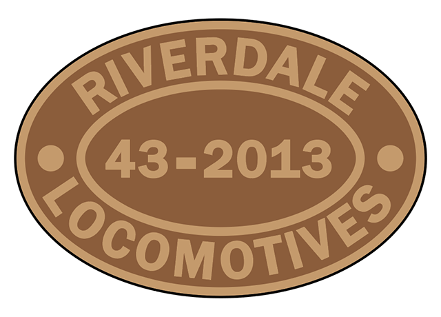 Riverdale Locomotives works plates
