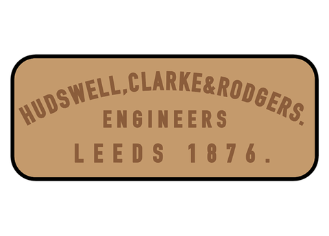 Hudswell, Clarke & Rodgers works plates