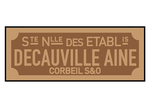 Decauville works plates (rectangular style)