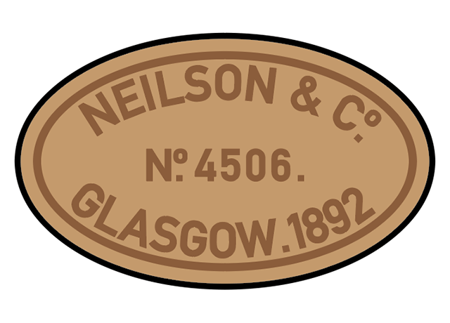 Neilson & Co works plates