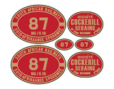 NGG16 Cockerill loco set plates