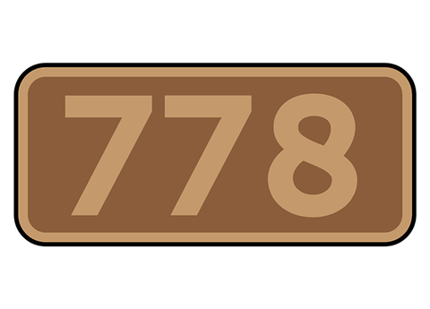 War Department Light Railways number plates
