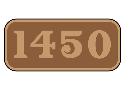 Great Western Railway number plates